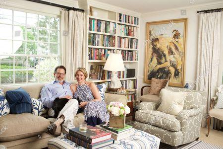 Ian Warburg and Jane Green