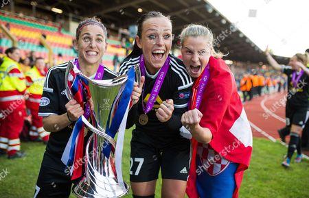 Editorial photo of Paris Saint-Germain V 1 FFC Frankfurt, UEFA Women's Champions League Final,  Berlin, Germany - 14 May 2015