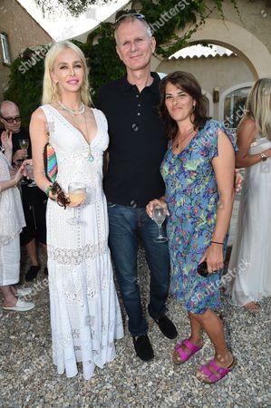Amanda Cronin Daeche, Mark Daeche and Tracey Emin