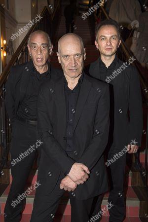 (l-r) Norman Watt-Roy, Wilko Johnson, Dylan Howe
