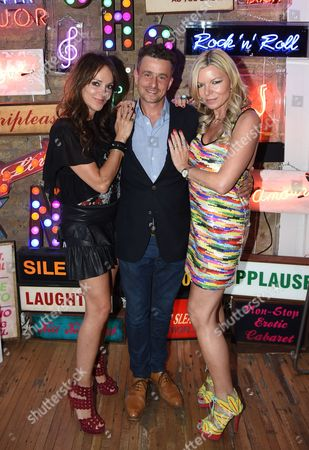 Editorial photo of Cocktails and Neon at Lights of Soho, London, Britain - 07 Jul 2015