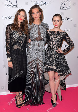 Editorial picture of Lancome 80th anniversary party, Autumn Winter 2015, Haute Couture, Paris Fashion Week, France - 07 Jul 2015