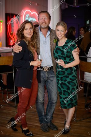 Valentina Salmeri, Soren Tholstrup and Penny Beer