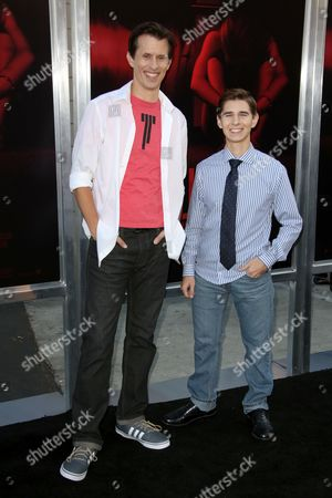 Stock Picture of Travis Cluff and Chris Lofing