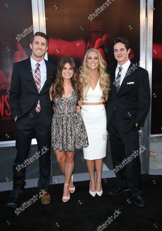 Ryan Shoos, Pfeifer Brown, Cassidy Gifford and Reese Mishler