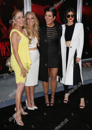 Kathie Lee Gifford, Cassidy Gifford, Kris Jenner and Kylie Jenne