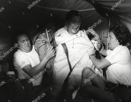 Terry Scott, Charles Hawtrey and Betty Marsden