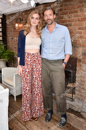 Eloise Showering and Patrick Grant