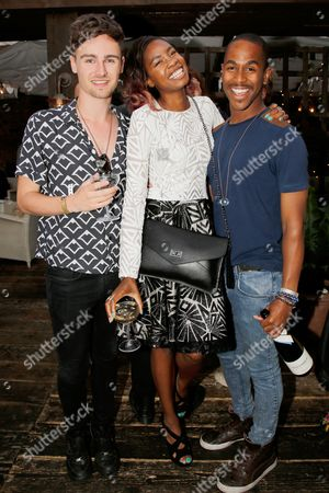 Tolula Adeyemi and Louis York