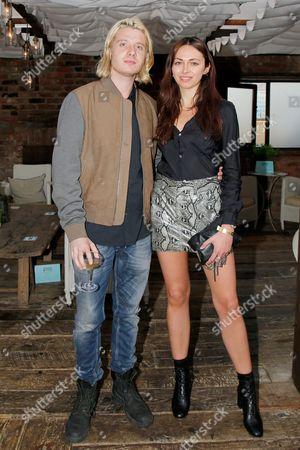 Dominic Jones and Victoria Hatcher