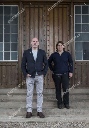 Editorial photo of Geoff Ellis and Anna Roberts at Strathallan Castle, Scotland, Britain - 26 Jun 2015