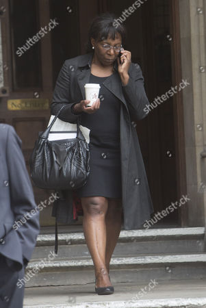 Editorial picture of Constance Briscoe perverting the course of justice trial, High Court, London, Britain - 08 Jul 2015