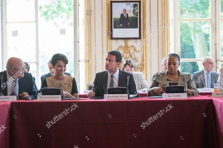 Editorial photo of Weekly Cabinet Meeting at the Hotel Matignon, Paris, France - 09 Jul 2015