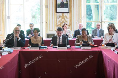Editorial picture of Weekly Cabinet Meeting at the Hotel Matignon, Paris, France - 09 Jul 2015