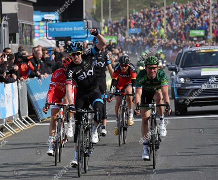 1st Lars Petter Nordhaug (Nor) Team Sky4:22:38  2Thomas Voeckler (Fra) Europcar   3Stéphane Rossetto (Fra) Cofidis, Solutions Credits   4Samuel Sanchez Gonzalez (Esp) BMC Racing   5Philip Deignan (Irl) Team Sky