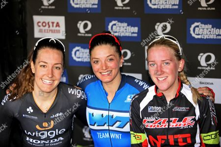 Dani KIng (wiggle) 1st Charline Joiner (WNT) 3rd and Jessie Walker 2nd,