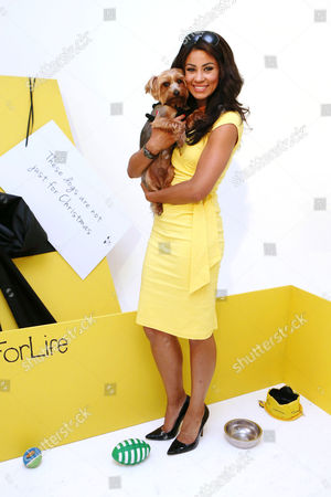 Stock Picture of Layla Flaherty with her dog Buttons