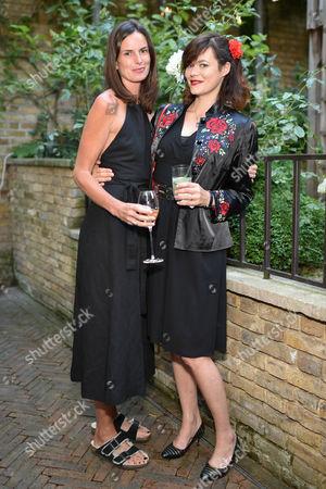 Claudia Donaldson and Jasmine Guinness