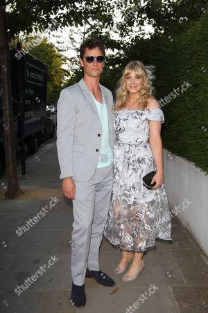 Stock Picture of Leon Ockenden and Vanessa Hehir