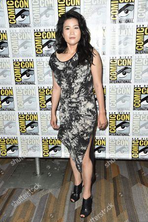 Editorial image of 'Scorpion' presentation at Comic-Con, San Diego, America - 09 Jul 2015