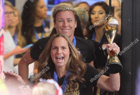 Christie Rampone and Abby Wambach