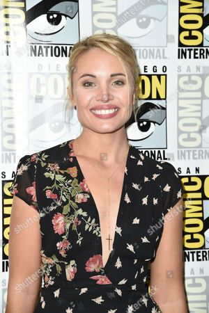 Stock Picture of Leah Pipes