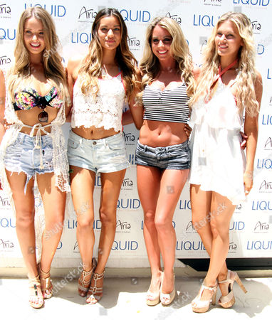 Stock Picture of Kahili Blundell, Vanessa Hanson, Carly Baker, Chrissy Blair