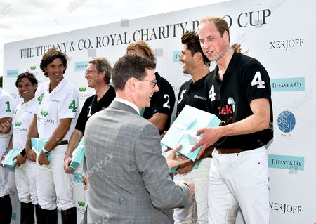 Barratt West, Prince William and guests