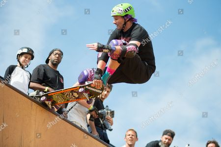 Editorial picture of Relentless NASS Action Sports and Music Festival, Shepton Mallet, Britain - 11 Jul 2015