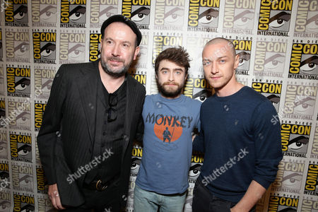 Paul McGuigan, Daniel Radcliffe, James McAvoy