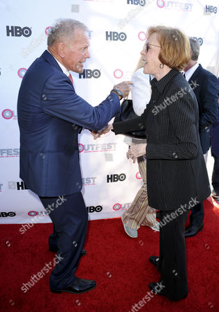 Tab Hunter and Carol Burnett