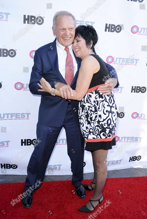 Tab Hunter and Joyce DeWitt