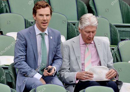 Stock Photo of Benedict Cumberbatch and Timothy Carlton