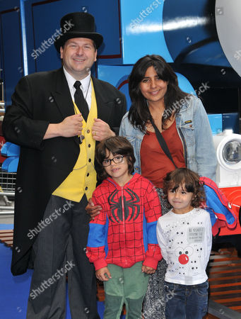 The Fat Controller with Rani Price & her kids