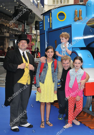 The Fat Controller with Donal MacIntyre and his kids