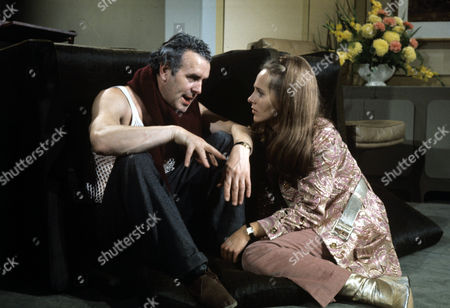 George Cole and Hilary Dwyer