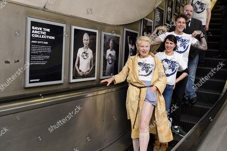 Dame Vivienne Westwood, Sadie Frost and Leebo Freeman