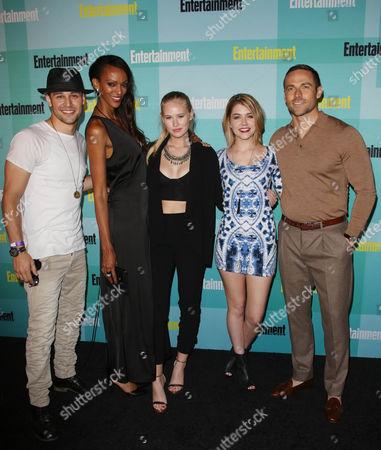 Ryan Guzman, Judi Shekoni, Danika Yarosh, Gatlin Green and guest