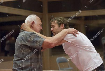 John Shrapnel as Salter, Lex Shrapnel as His Sons