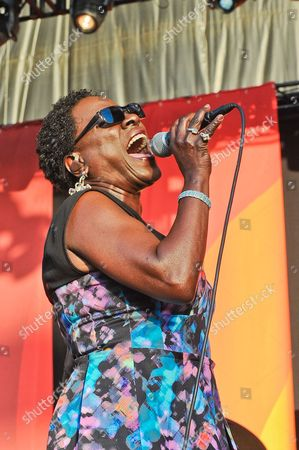 Support act - Sharon Jones and The Dap-Kings