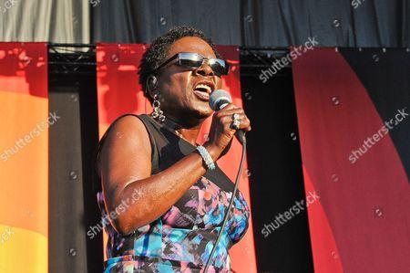 Support act - Sharon Jones and The Dap-Kings - Sharon Jones