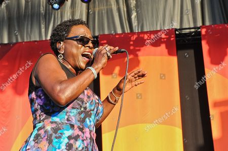 Stock Image of Support act - Sharon Jones and The Dap-Kings