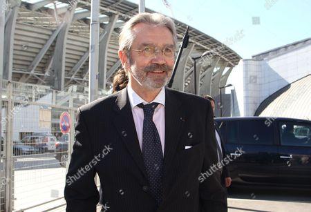 French Football League President, Frederic Thiriez