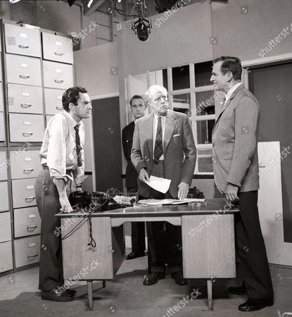 Editorial photo of 'The Odd Man' TV Programme. - 1960