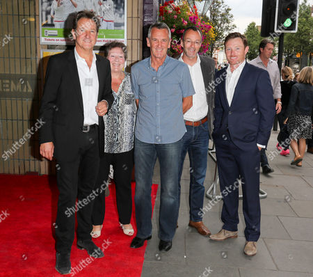 Mark Nicholas, Phil Neal and Ian Bell