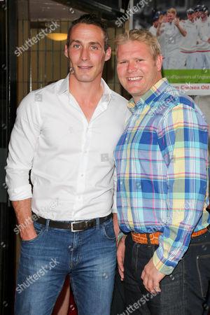 Simon Jones and Matthew Hoggard