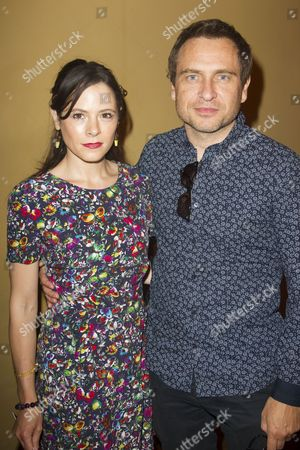 Elaine Cassidy and Stephen Lord