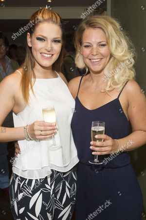 Ellie Ann Lowe (Mary O'Brien) and Francesca Jackson (Nancy) attend the after party