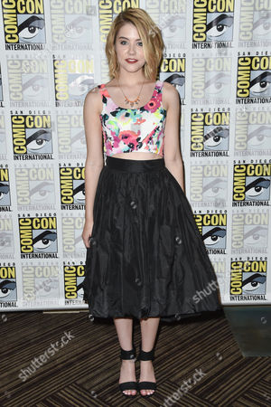 Editorial image of 'Heroes Reborn' TV series photocall, Comic-Con, San Diego, America - 12 Jul 2015
