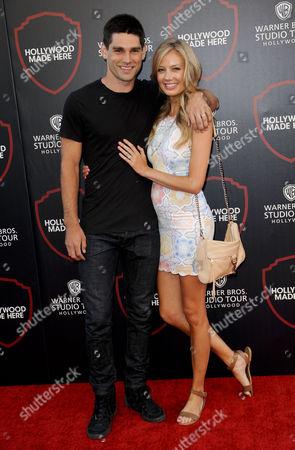Melissa Ordway & husband Justin Gaston